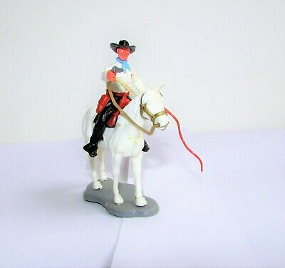 Timpo Cowboy On Standing Horse • 7.99£