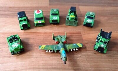 Micro Machines Military Army Green, 8 Pieces • 9.20£
