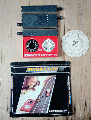 Scalextric Lap Counter Analogue 1980s Box Retro Vintage And Speed Calculator • 8£