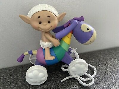 Cloud Babies Rare Baby Bobo On Horse Pull Along  Character Toy Cloudbabies • 58£