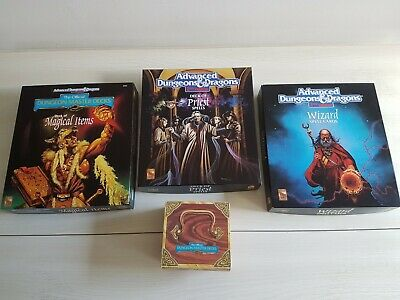 Advanced Dungeons And Dragons 2nd Edition. Wizard, Priest, & Magical Items Cards • 10.50£
