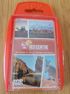 Alice Springs Top Trumps New & Sealed • 19.99£
