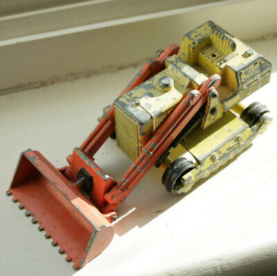Vintage Matchbox King Size No K-8 Caterpillar Traxcavator - By Lesney • 3£