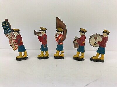 Lead Figures X5 American Band Vintage • 19.99£