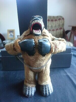 Vintage Old King Kong Wind Up Toy With Moving Parts • 51£
