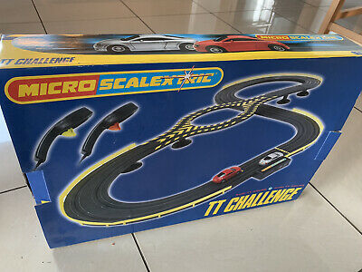 MICRO SCALEXTRIC Audi TT Challenge 1:64 Scale. Complete Set In VGC!! • 8.30£