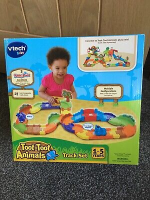 Vtech Toot Toot Animals Track Set Age 1 Baby Toy Boxed With All Manuals.  • 9£