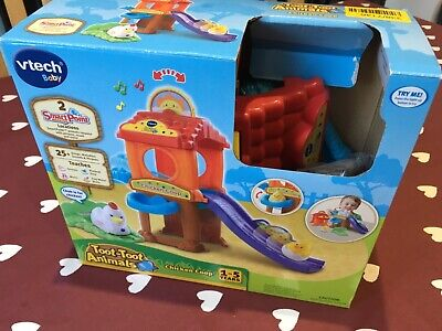 Vtech Toot Toot Animals Chicken Coop Age 1 Baby Toy Boxed With All Manuals • 9£