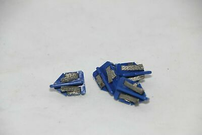 Scalextric Accessories - C8145 - Blue Short Stem Guide Blades With Braids - X4 • 3.99£