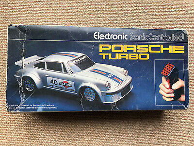 Electronic Sonic Controlled Porsche Turbo Boxed - Radio Controlled Model Car 911 • 24.95£
