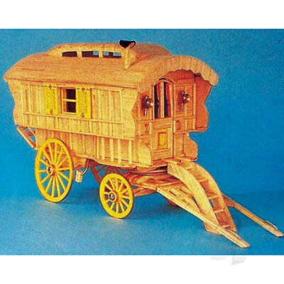 Hobby's Ledge Caravan Matchstick Match Craft Model Kit • 18.96£