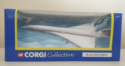 Corgi British Airways Concorde Toy Model Plane In Landor Livery - In Box • 5£