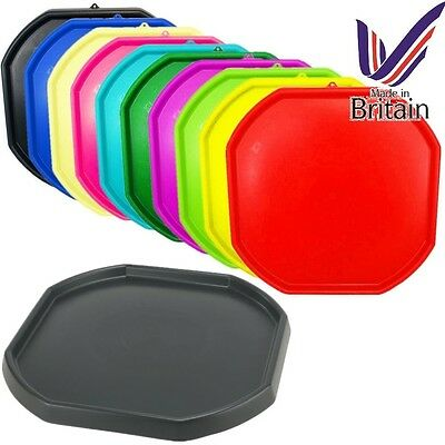 Large Plastic Builder Children Play Colour Mixing Tray Spot Cement Mortar Sand • 14.95£