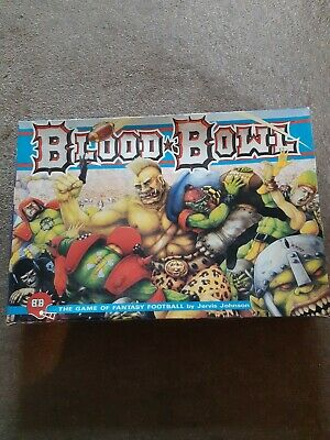 Blood Bowl 2nd Edition Board Game Games Workshop. Non Original Dice • 40£