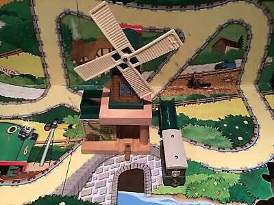 Thomas The Tank Engine Brio/ELC Style Wooden Trains Tobys Windmill & Toby Train • 0.99£