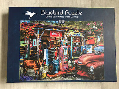 On The Back Roads In The Country (1000 Pieces) Jigsaw Puzzle • 3.90£