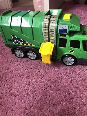 Bin Recycle Green Truck With Lights And  Sounds From Tesco • 1£