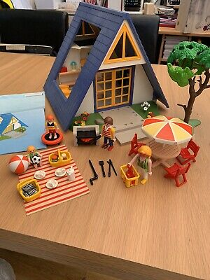 Playmobil Holiday Home 3230 + Extras • 15£