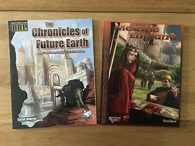 Basic Roleplaying: Merrie England & Chronicles Of Future Earth Sourcebooks • 1.20£