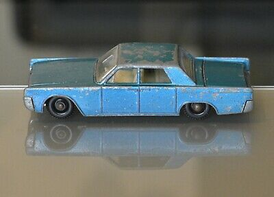 Loose Diecast Matchbox Lesney 1-75 Srs No.31c Lincoln Continental • 0.99£