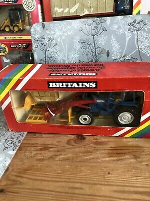 Rare Britains Ford TW 20 & Front Loader • 1.70£