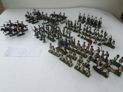Napoleonic Metal Soldiers - 28mm- 30mm High (1/50 Scale?)     Lot 2 • 5.99£