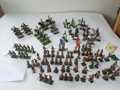 Napoleonic Metal Soldiers  - 28mm- 30mm High (1/50 Scale?)     Lot 4 • 5.99£