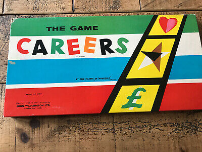 Waddingtons Careers Board Game, Mid 60's - Complete, And Vg Condition • 10£