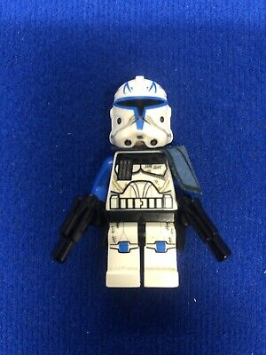 Lego Minifigure Captain Rex Clone Trooper  Rare From 75012 • 20£