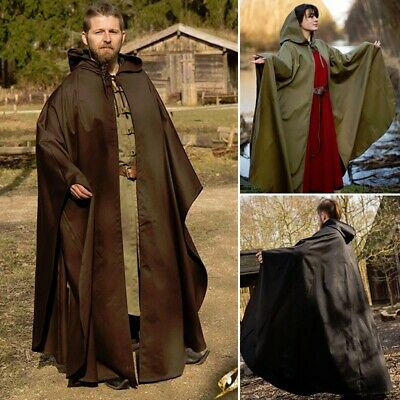 Medieval / Viking, Godfrey Cape / Cloak. Ideal For Costume Or LARP Events • 70£