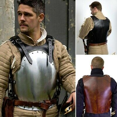 Mercenary Body Armour / Back & Breastplate. For Costume, LARP & Re-enactment • 139£