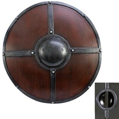 LARP Ironshod Shield. Safe Latex And Foam. Perfect For The Battle Field. Armour • 81£