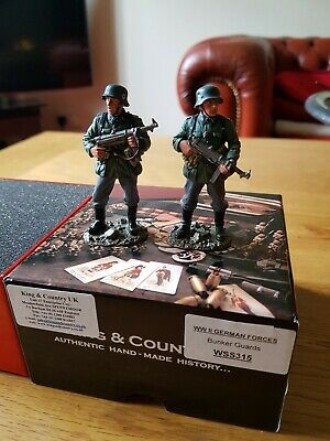 KING AND COUNTRY WW2 German SS BUNKER GUARDS WSS315 • 52.99£