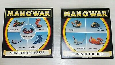 Man O'War  Monsters Of The Sea  And   Beasts Of The Deep  • 41£
