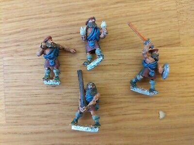 Citadel The Tragedy Of McDeath Clansmen Models 1-4 • 6.52£