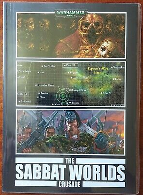 Black Library - The Sabbat Worlds Crusade OOP Rare • 9.99£