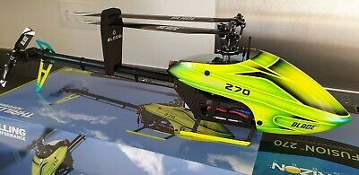 RC Helicopter Eflite Blade 270 Fusion BNF With 3 X 4s Lipo Packs (new) • 160£