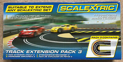 Scalextric Track Extension Pack 3  No C8512 • 10£