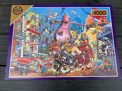 Falcon Deluxe Jigsaw Puzzle 1000 Pieces Used • 3£
