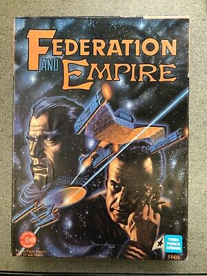 Federation And Empire Star Trek Board Game • 15£