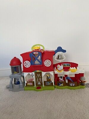 Fisher Price Little People Farm Plus Farmer & Animals • 4.90£