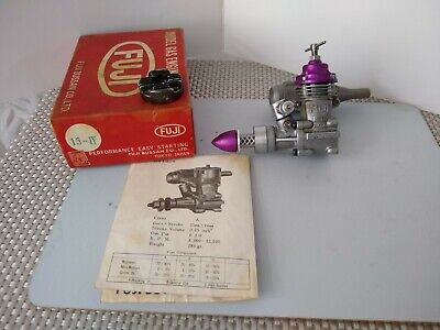 Fuji 15 1V Glo Engine  That's Been Converted To Run As A Model Diesel Engine • 25£
