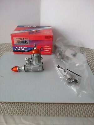 A New SC12 Glo Plug Engine That Has Been Converted Into A Model Diesel Engine • 40£