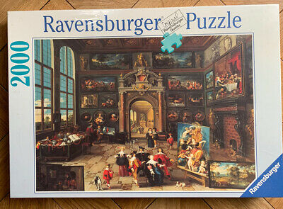 RAVENSBURGER 2000 Piece Jigsaw Puzzle, Shrinkwrapped, 'Gallery Of A Collector' • 7.10£