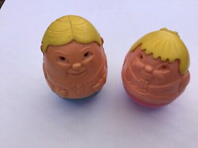 VINTAGE WEEBLES - Man And Lady • 6.99£