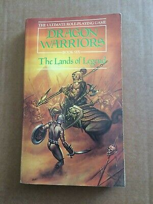 Dragon Warriors RPG Book Six Lands Of Legend First Printing 1986 Dave Morris • 40£