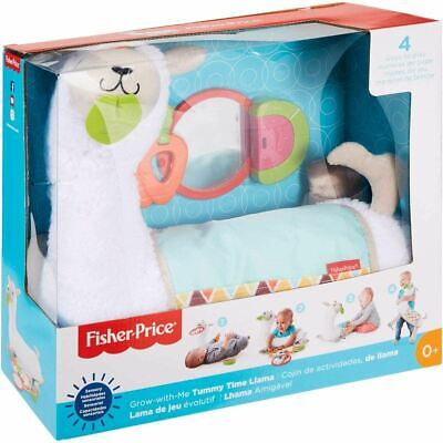 Fisher Price Grow With Me Tummy Time Llama • 26.49£