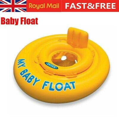 Baby Float Swimming Ring Toddler Kids Inflatable Rubber Ring Boat Safety Seat • 7.29£