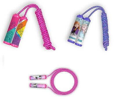 DISNEY Skipping Jump Rope Frozen, Princess, Minnie Mouse, Toy Girls Gift • 7.99£