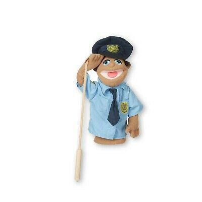 Melissa And Doug Police Officer Puppet - 40351 - NEW! • 19.99£